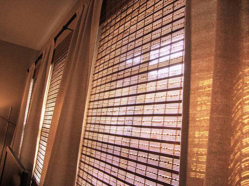 them these went realized we and up great wooden i love the privacy some found pin drapes new faux bouclair blinds needed wood from after