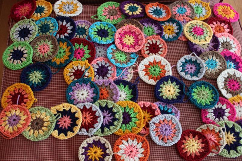 Crocheted Blanket Caitlin Wallace Rowland