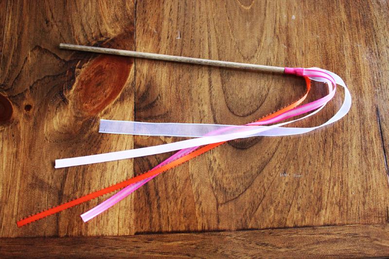 DIY Wedding Ribbon Wands - Caitlin Wallace Rowland