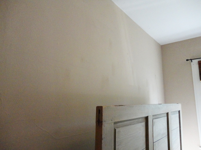 Paint Walls White Splotchy