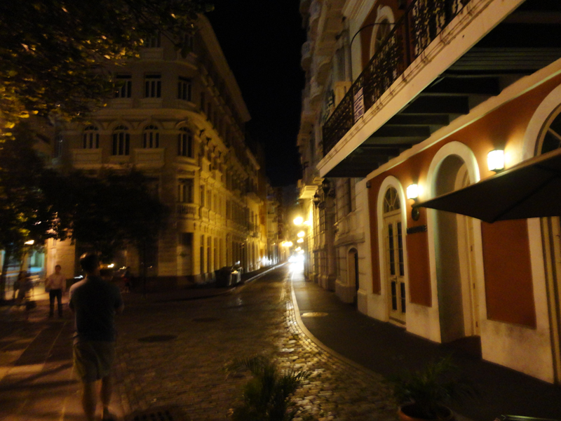 old san juan at night1