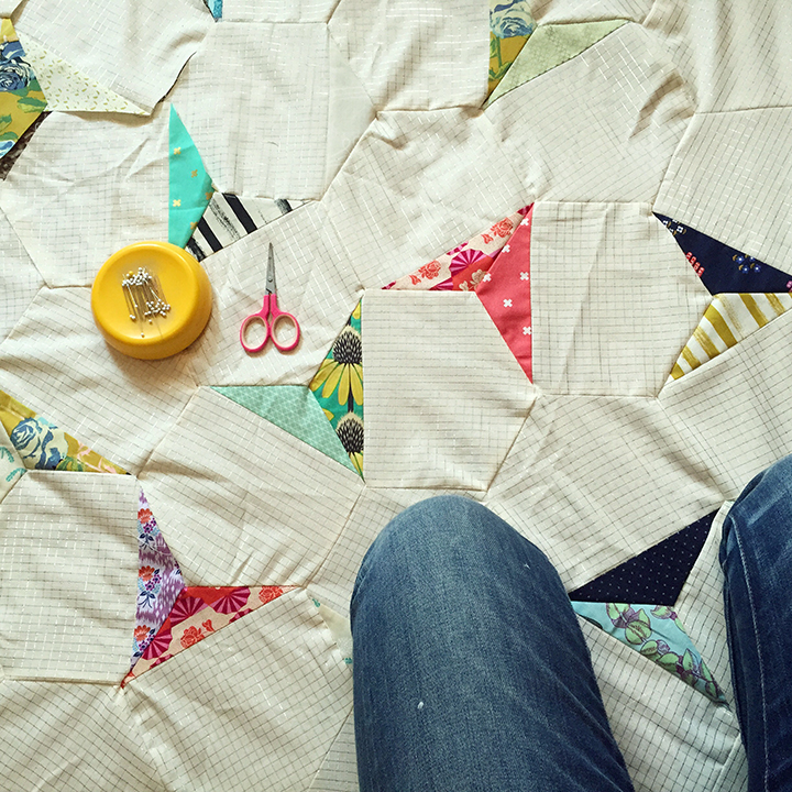 hexagon quilt1